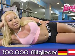 German big natural tits housewife homemade fuck