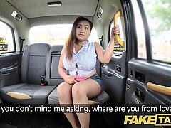 fake taxi Thai massagist with big tits works her magic