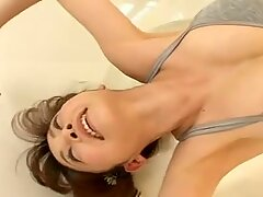 Well stacked beauty Anri Sugihara exposing her charms