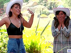 Nasty city girl tries country lifeReport this video