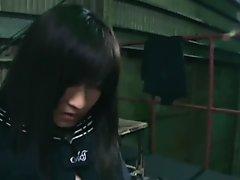 Schoolgirl investigator Headscissor neck break