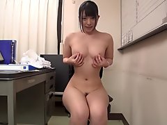 Amazing Japanese girl in Crazy Striptease, Nurse JAV clip