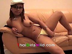 hefty dick white fellow fucks big boob asian girl
