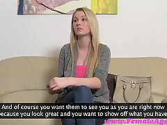FemaleAgent HD Big breast casting