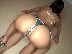 Horny Japanese chick in Exotic Face Sitting, Handjob JAV movie