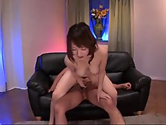 Arisa Araki amazing boobs play and home sex in pov - More at Japanesemamas.com