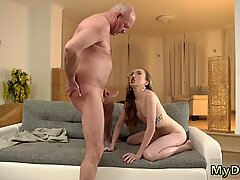 Young girl licks old granny xxx Russian Language Power