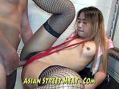 neat Proportionate Chunky asian fucker