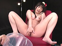 Hina Maeda Masturbates And Has Three Guys Cum For Her - More at Pissjp.com