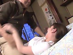 Horny Japanese model in Crazy HD JAV clip